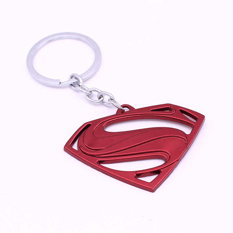 2019 Capitão América Thor Homem de Ferro Batman Superman Homem Aranha Filme de Super Herói Avengers Chaveiro Chaveiro Acessórios Anel Chave