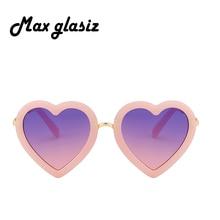 Children Kids Sunglasses Fashion Heart Shaped Cute UV400 Designer Frame Eyewear Baby Girls Sunglasses Sun Glasses