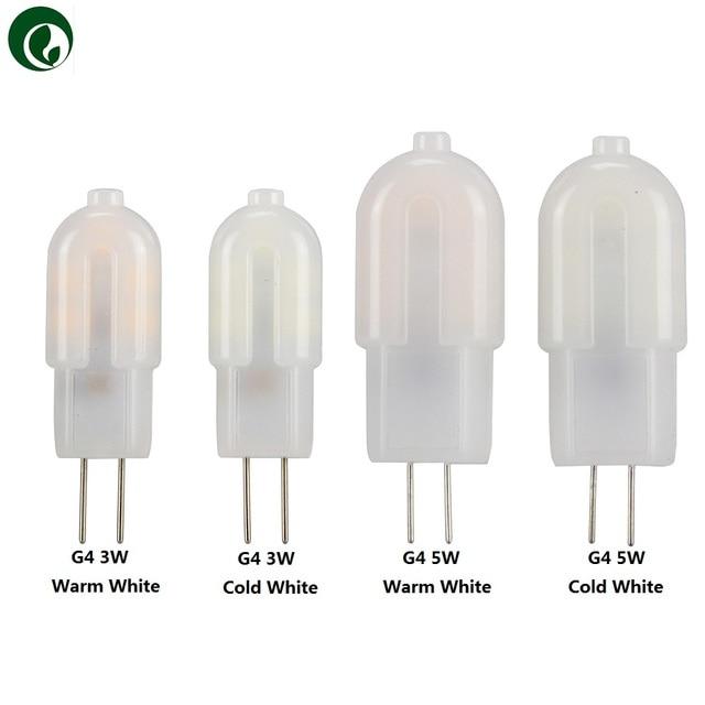 10 шт. мини G4 G9 3 Вт 5 Вт 7 Вт SMD2835 Светодиодная лампа AC & DC 12 В AC 220 В светодиодная нить пластиковая стеклянная лампа для дома и спальни