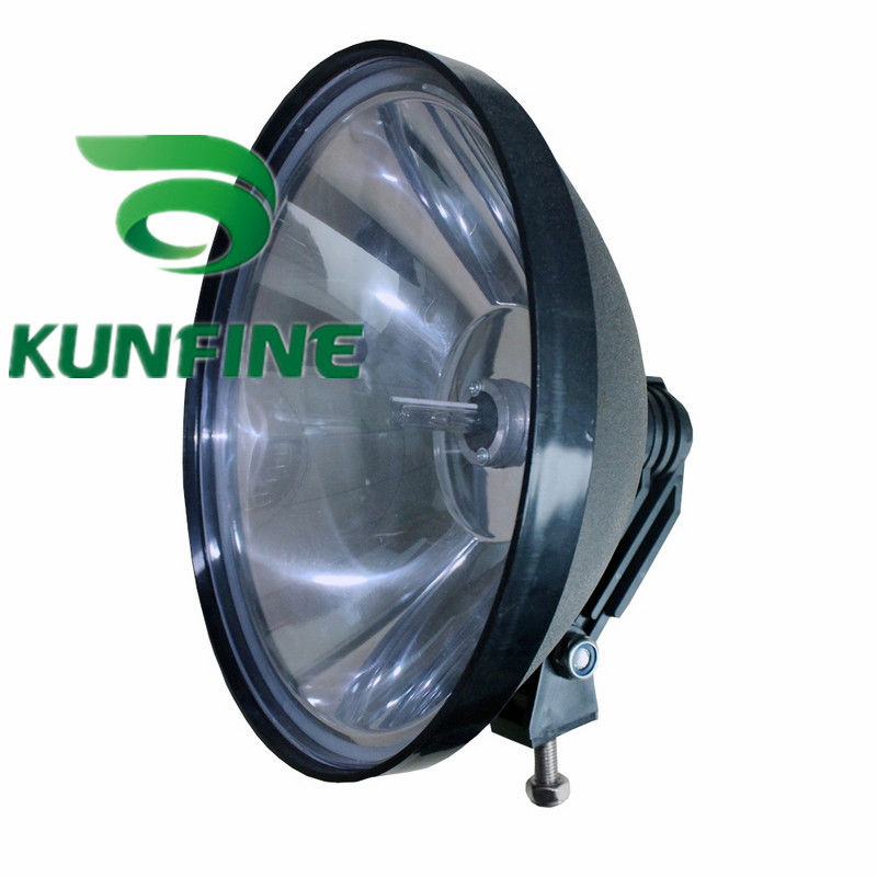 9 Inch HID Driving Light H3 600K Offroad Spot Beam Light for SUV Jeep Truck ATV HID XENON Fog Lights HID Work Light KF-K5014 cheap shipping 12v 55w auto hid spot light 7 hid off road light hid driving light kf11025 7 14months warranty
