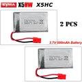 2 шт. * 3.7 В 500 мАч Li-Po Батареи Для Syma X5HC X5HW X5HC-1 X5HW-1 RC Quadcopter