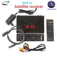 SATXTREM IP-S2บวกที่ดีที่สุดHD 1080จุดทีวีกล่องDVB S2รับสัญญาณทีวีดาว