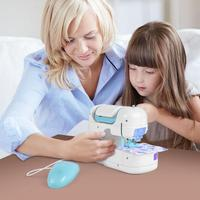 Simulation Electric Doll Clothes Sewing Machine Children Playing Home Toys Magic Play Set Kids Gift Small