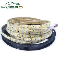 5 M 2835 LED SMD 3528 Wodoodporna Elastyczna IP65 Taśmy 600 diody led 120 diod/m Hviero Biały Ciepły-Biały Czerwony Zielony Niebieski Żółty DC 12 V