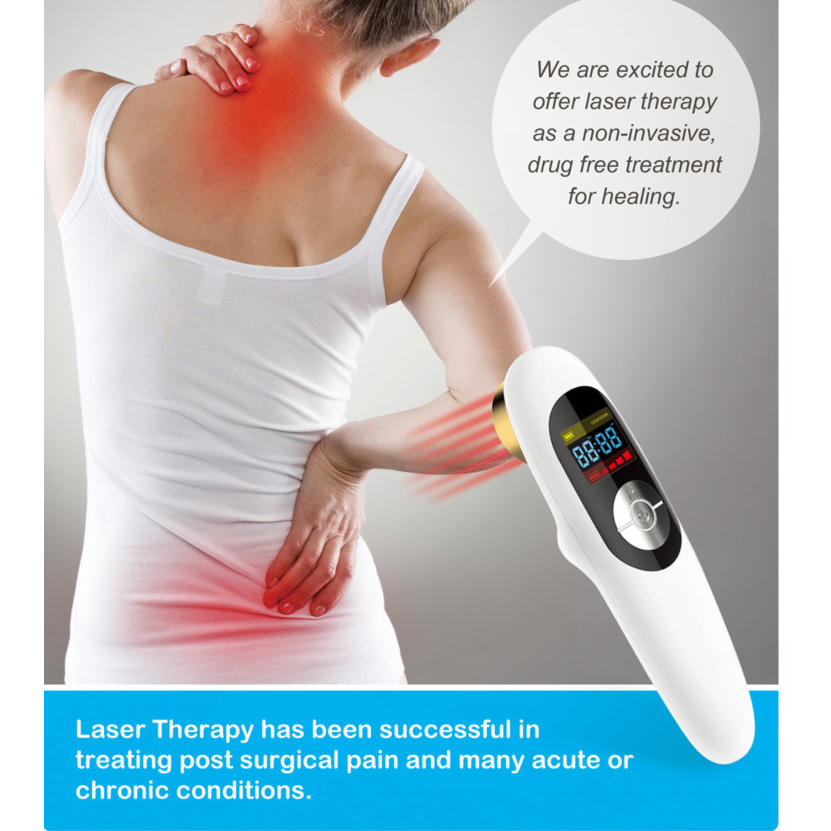 ATANG Laser Pain Relief Arthritis Massager Portable Medical Laser Therapy Neck Rheumatoid Joint Pain Breast Hyperplasia Sciatica