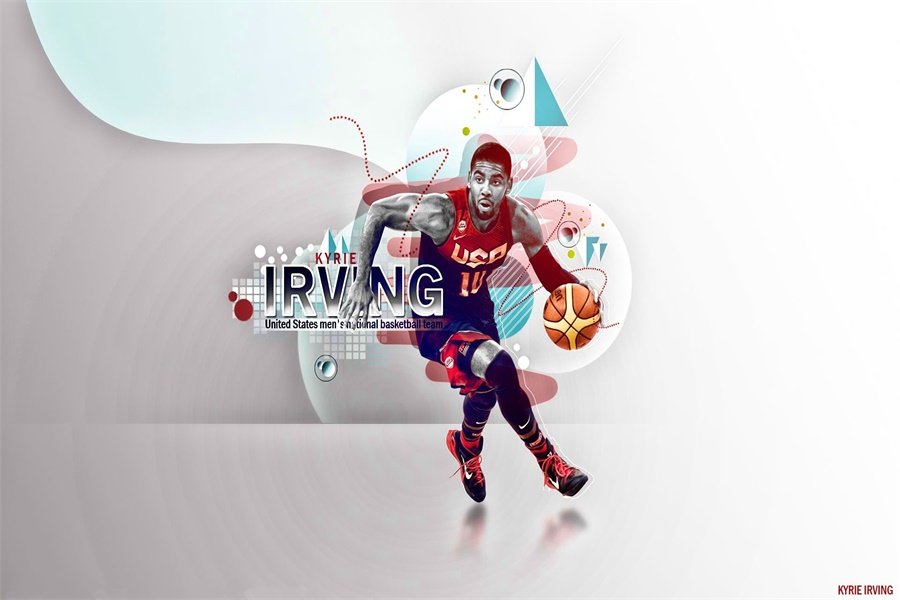 Custom Canvas Kyrie Irving Poster NBA Basketball Wall Stickers Cavaliers Super Star Wallpaper Mural Christmas Decoration 2537 In From Home