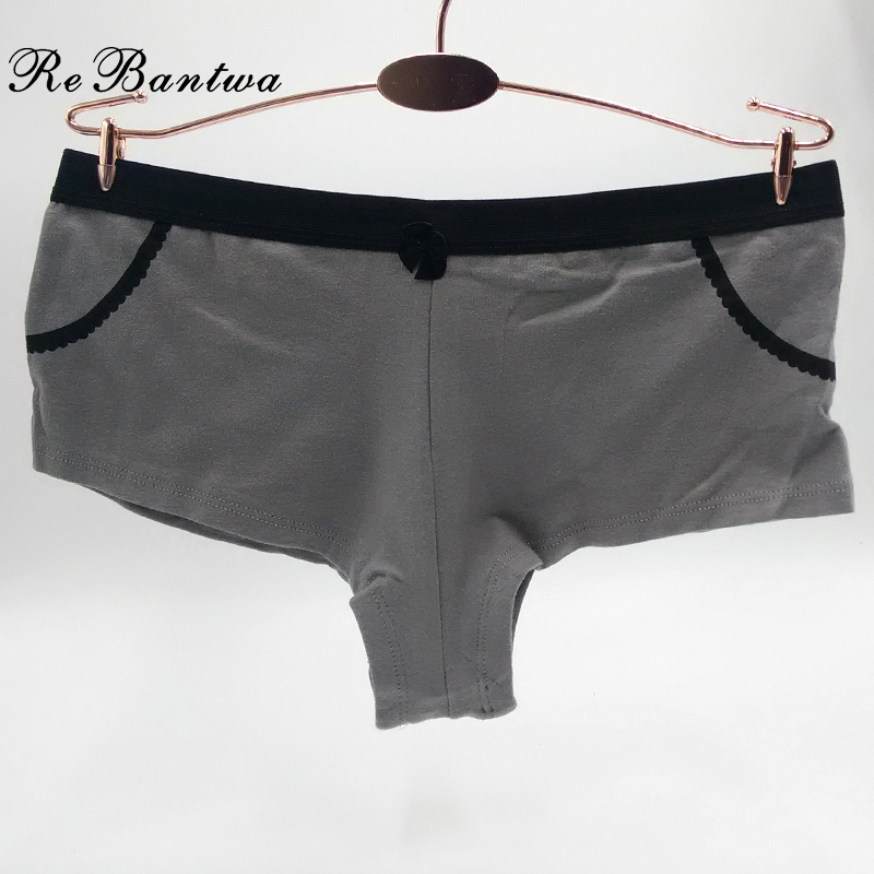 Women Cute <font><b>Boxer</b></font> Boyshorts <font><b>Sexy</b></font> Panties Lingerie Knickers Cotton Women Underwear underpants <font><b>Femme</b></font> Briefs Wholesale image
