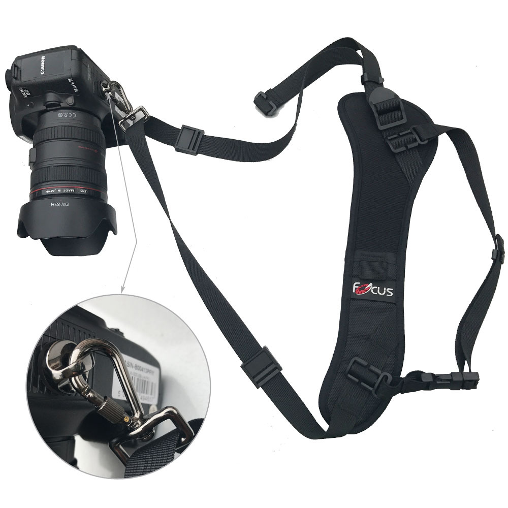 Focus F-1 Camera Strap Quick Release Rapid Shoulder Sling Neck Strap Belt for Canon Nikon Sony Pentax Olympus Photo Accessories