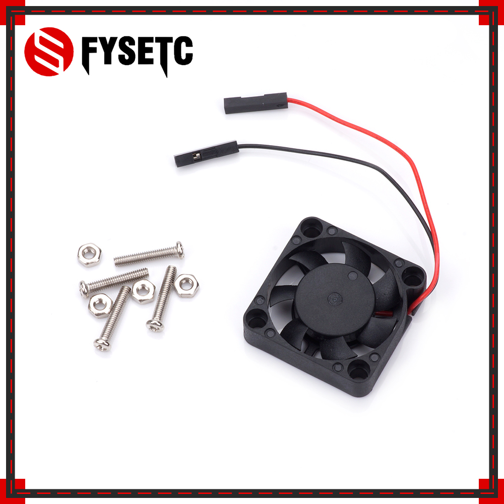 Raspberry Pi 3 Model B CPU Cooling Fan 5V 2P Brushless Fan 30*30*7 MM Cooling Fan For RPI 3B+/2 For Orange Pi For NesPi Case