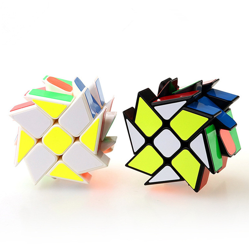 In Quality Brilliant New Moyu Axis Time Wheel Cube Stickerless Creative Magic Cube Timewheel Speed Puzzle Special Toys For Challenge Children Excellent