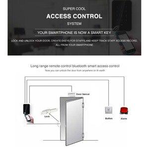 Image 5 - Cerradura electrónica inteligente con Bluetooth para puerta cerradura de puerta Digital con Wifi, control de largo alcance, cerradura segura de vidrio para oficina, Lector de Control de Acceso