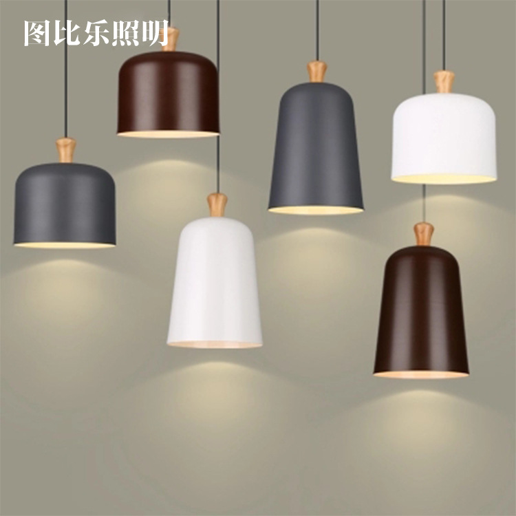contracted fashion led aluminum droplight a buffet restaurant hat personality droplight single-end real wood droplightcontracted fashion led aluminum droplight a buffet restaurant hat personality droplight single-end real wood droplight