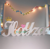 Standing Letters Sign Personalised Raw Wedding Joint Names Birthday party decoration Princess birthday giant Unique