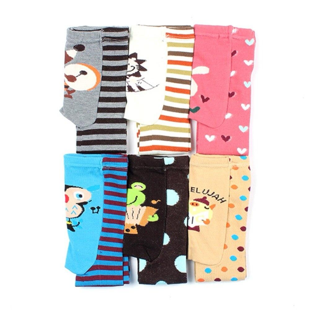 6 Color Cute Baby Kid Infant Toddler Newborn Cartoon Striped Leggings Long Pants
