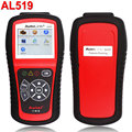 Autel Autolink AL519 with TFT Color Screen OBDII/CAN Scan Tool Read & Clear Trouble Code Free Online Update Escaner Automotriz