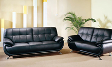 free shipping sofa 2013 new genuine Leather modern sectional sofa set, 123 Chair Love Seat & sofa european style sofa L9077(China)