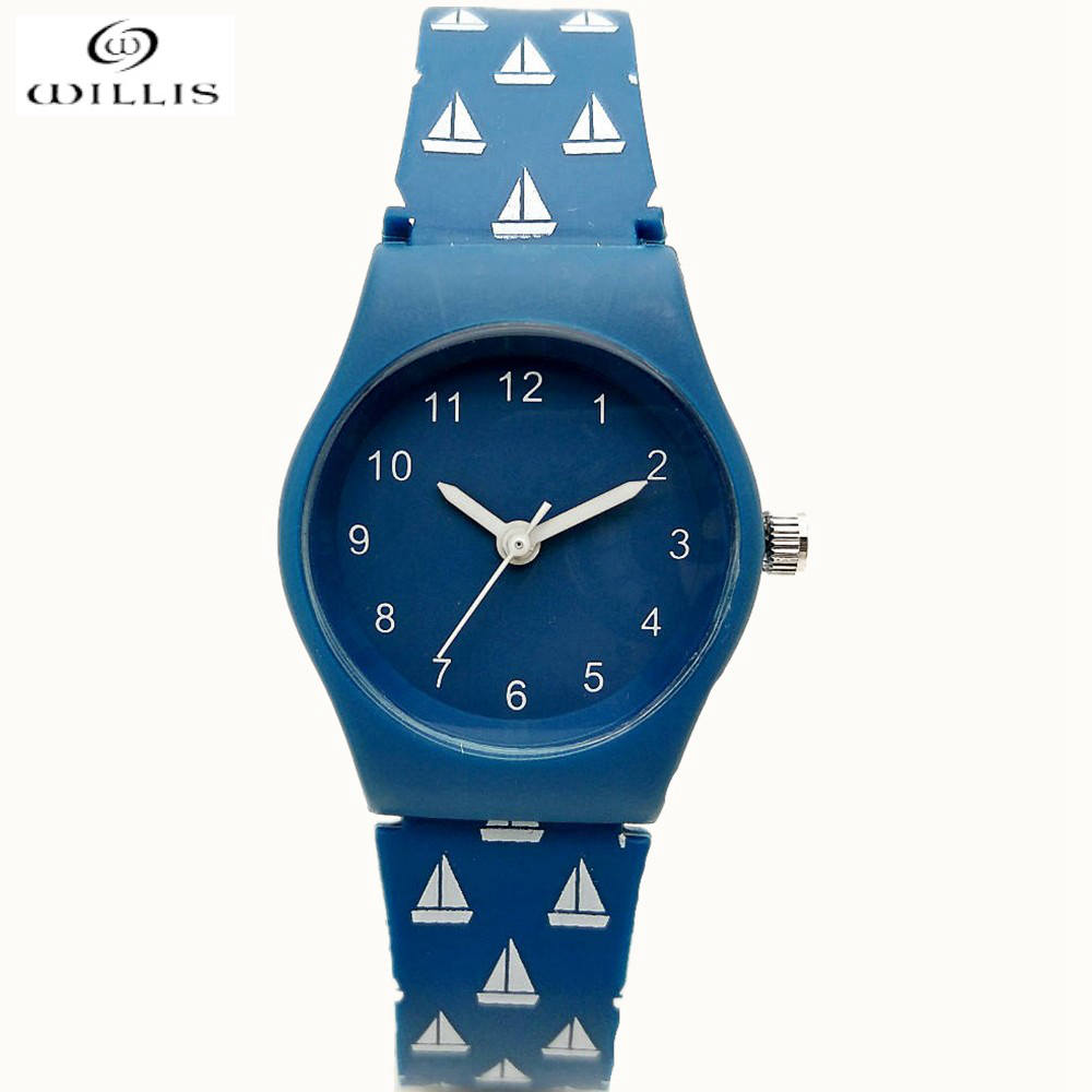 2017 Hot clock luxury brand willis silicone wrist watches women fashion watch women dress watches Relogies masculinos watches