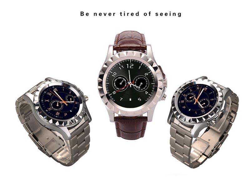 2015 Brand New T2 Bluetooth Smart Watch Wristwatch For iphone Samsung LG All Smart Phone With 3MP HD Camera