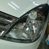 Livina Carbon Fiber Car Styling Headlight Eyebrows Cover Trim Sticker For Nissan 2007 2010