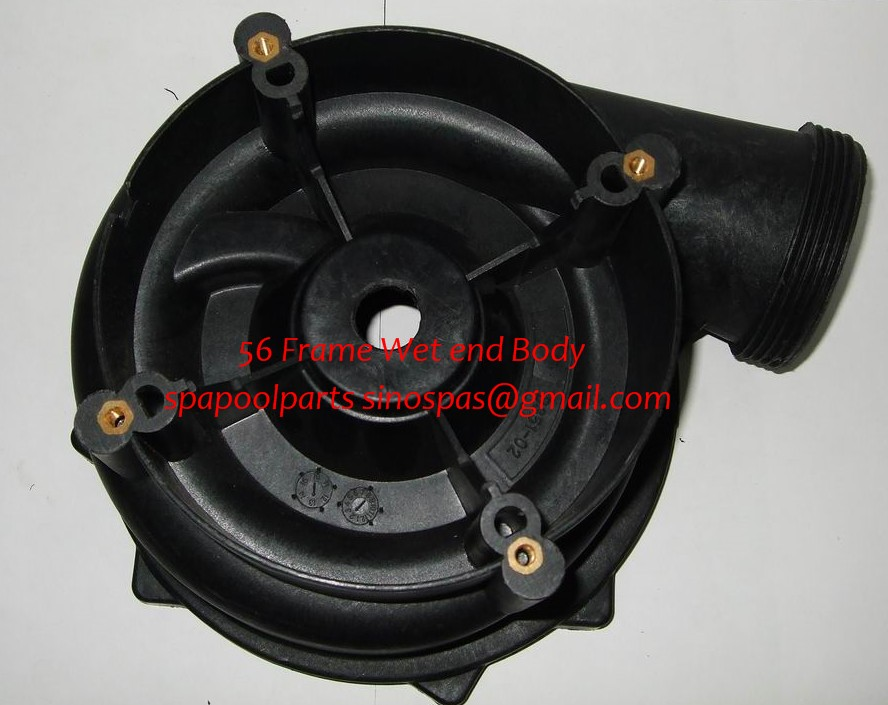 LX pump wet end body 7.5 inch fit WUA LP Series pump LP200 LP250 LP300 produced before 2008 yea whole pump wet end part for lx lp series including pump body pump cover impeller seal
