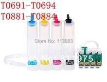 88 t0881-t0884/69 t0691-t0694 ciss sistema de suministro de tinta continua para epson nx100 nx115 nx200 nx215 nx400 nx300 nx415