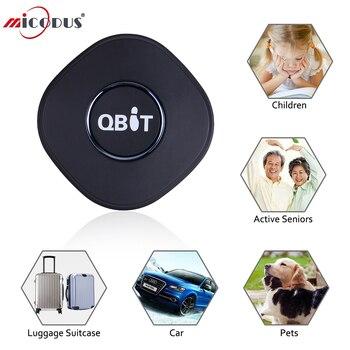 Персональный gps-трекер Concox Qbit MINI Q1, водонепроницаемый локатор GPS, устройство для отслеживания в реальном времени, положение WIFI, двусторонняя ...