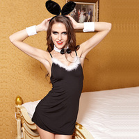 Christmas Halloween Cosplay Costume Sexy Lingerie Underwear Role Playing UNIFORM SEXY Rabbit Bunny Game Clothing Sexy