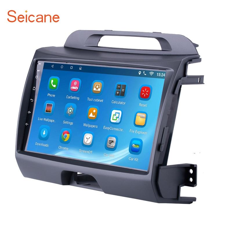 все цены на Seicane 9 inch Android 6.0/7.1 GPS Car Radio For KIA Sportage 2010 2011 2012 2013 2014 2015 Double Din Wifi Multimedia Player онлайн
