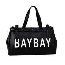 Fashion Famous Designer Brand Women big leather Handbags letter Shoulder Bag lady rivet tote bags Large Capacity Leisure Bags