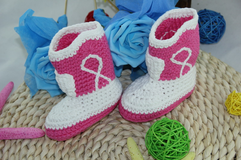 Crochet Baby Shoes: They're Cute