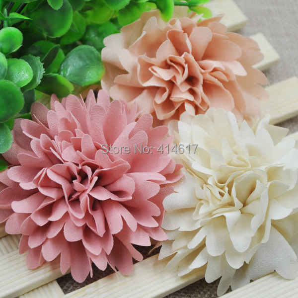 Us 1 94 35 Off 3 Pcs 75mm Big Ribbon Flowers Bows Rose Wedding Craft Decor Appliques Mix Lot A0173 In Artificial Dried Flowers From Home Garden