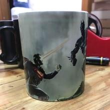 The walking dead Star wars Dragon Ball Z Batman Superman Color Changing Mug