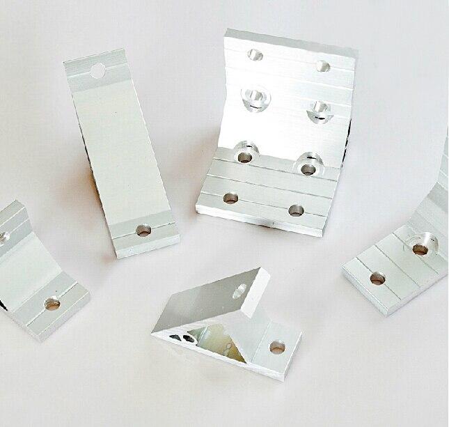 45 град. внутри угловой кронштейн алюминиевый профиль поддержка разъем для алюминиевого профиля 2020
