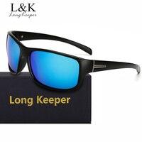 Long Keeper Brand Polarized Sunglasses Men Polaroid Unisex Sun Glasses UV400 Goggles Eyewears Free Shipping With Glasses Box
