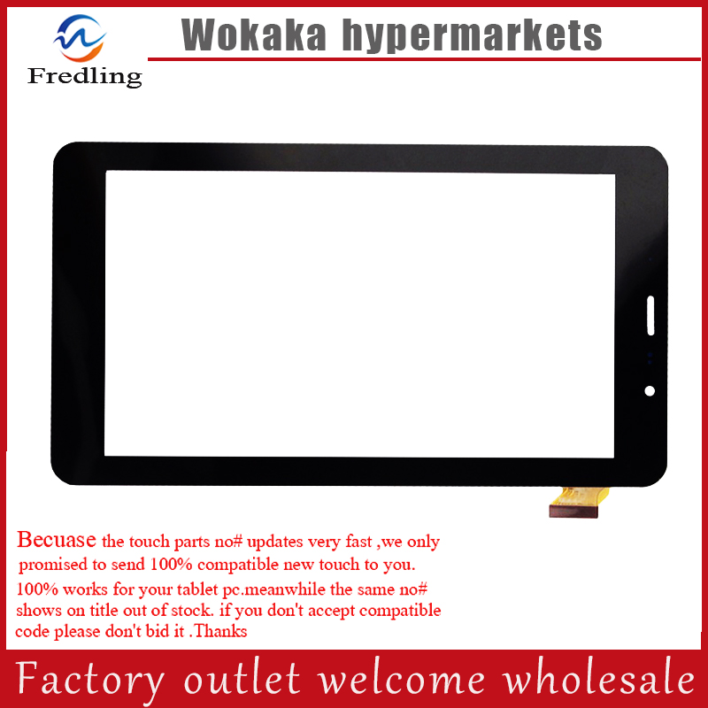 New 7 teXet TM-7058 X-pad STYLE 7.1 3G Tablet touch screen Digitizer Touch panel Glass Sensor Replacement FreeShipping new 7 inch for texet tm 7058 x pad style 7 1 3g touch screen touch panel digitizer glass sensor replacement