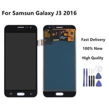 LCD For Samsung J3 2016 lcd For Galaxy j3 2016 Screen J320F J320M J320H J320FN Touch Screen Digitizer J320M j320f Display+Tools цена и фото