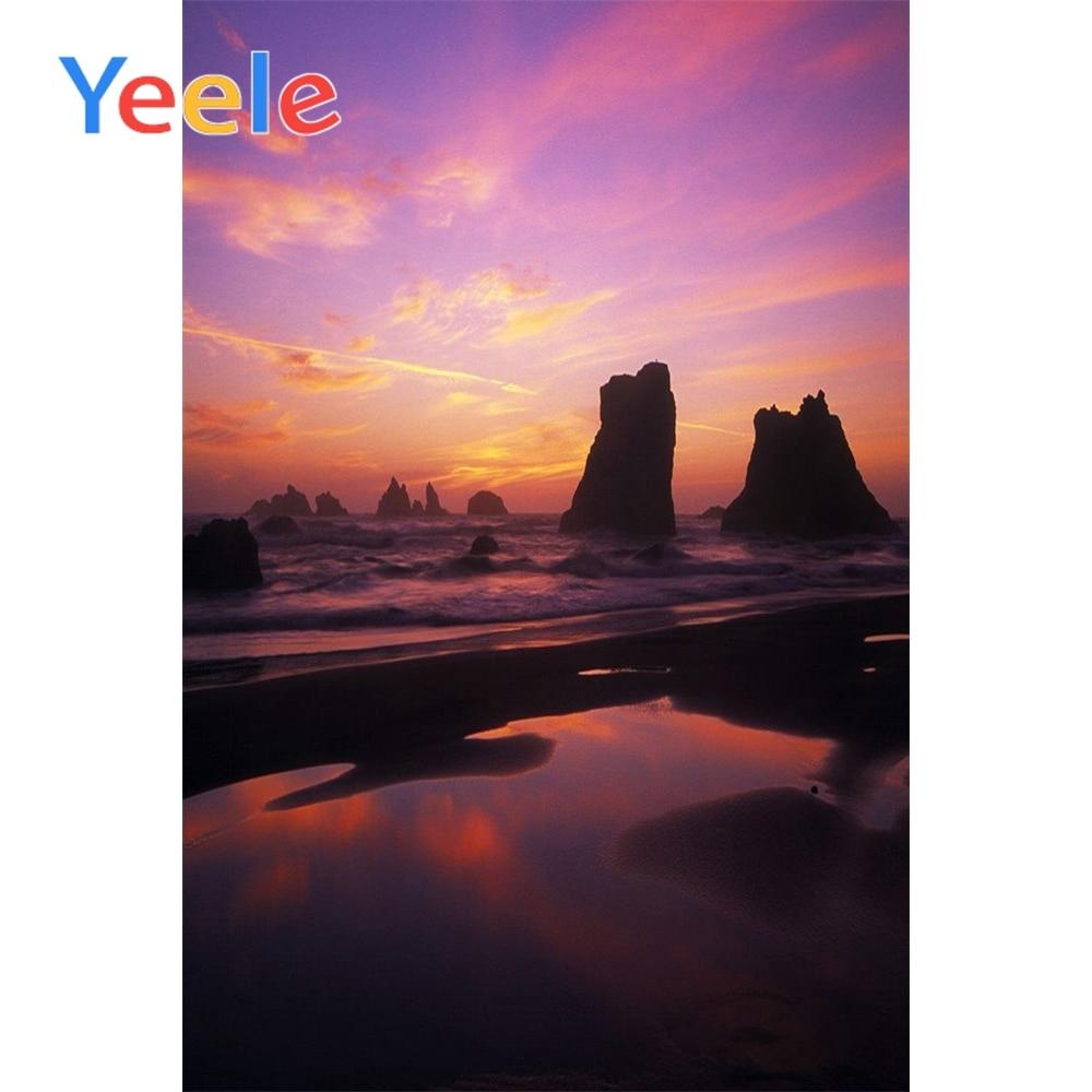 Yeele Sunset Glow View Photographic Backdrops fantasy Scenery Decorations Photography Backgrounds Customized For Photo Studio
