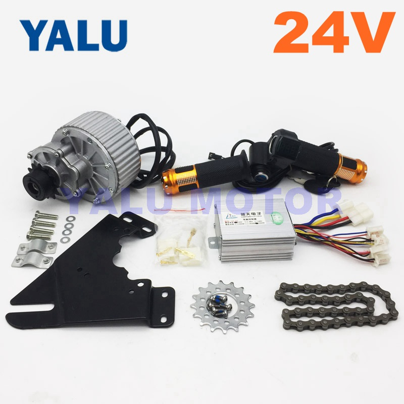 Electric Conversion Kit For Common Bike Left Chain Drive Custom 250W 24V HOT!