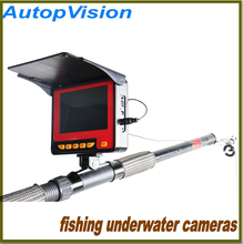 30M Cable 4.3inch LCD 4PCS IR LED Record and photo Portable Night Vision Fish Finder Camera Underwater Fishing Camera