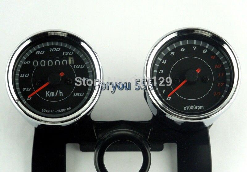 Мотоцикл одометр, спидометр, тахометр Speedo метр Тахометр для Honda Yamaha Suzuki Kawasaki