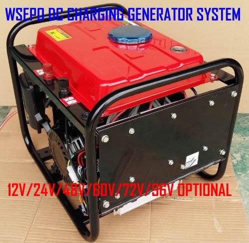 Бензиновый генератор 5 DC