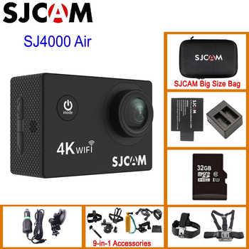 "SJCAM SJ4000 AIR 4K 30fps Action Camera Full HD Allwinner Chipset 4K WiFi Sport DV 2.0\"" Mini Helmet Camera Waterproof Sports DV - DISCOUNT ITEM  43 OFF Consumer Electronics"