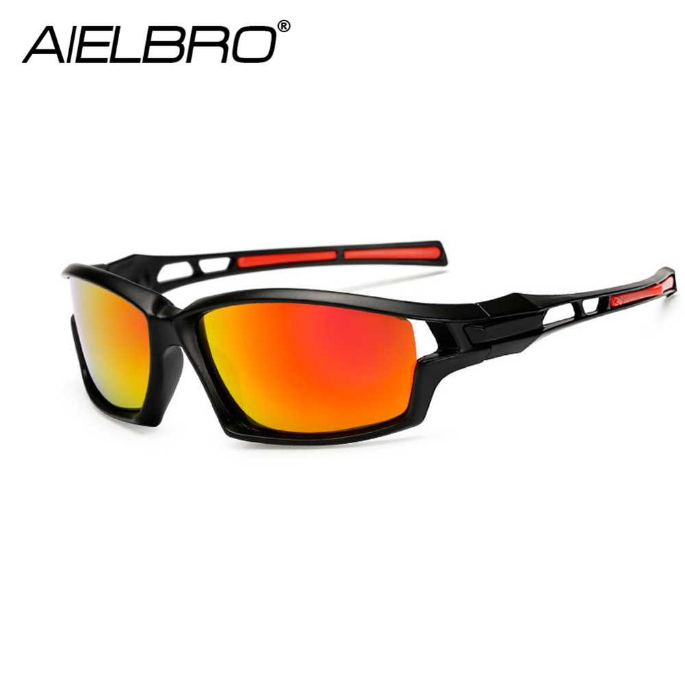 Sport Sunglasses Polarized Cycling Glasses UV400 Bicycle Glasses Men Women Cycling Sunglasses Fishing Running Eyeware in Cycling Eyewear from Sports Entertainment