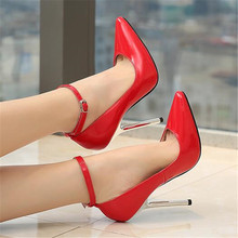 feiyitu  Brand Luxury 2018 New Women Red High Heel Pumps Female Strange Designer High Heels Pumps Scarpin Party Valentine Shoes цены онлайн