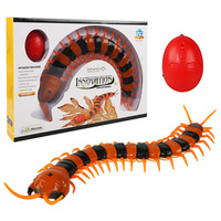Trick Electronic Pet Robotic Insect Prank Toys RC Simulation Centipede Remote Control Smart Animal Model Child Adult Gift