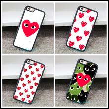 Comme Des Garcons мода телефон Обложка Case для iphone 4 4S 5 5S 5C SE6 6 s 6 плюс 6 s плюс 7 7pus и mm10