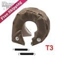 Dyno-Free Shipping Glass fiber T3 Titanium Turbo Blanket heat shield barrier 1,800 degree temp rating