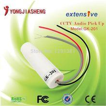 5PCS Pillar High Sensitivity Mini CCTV Microphone For Security Camera Audio Surveillance DVR CCTV Mic Sound Monitor