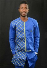 Traditional Mens African Clothing Embroidery Design Dashiki