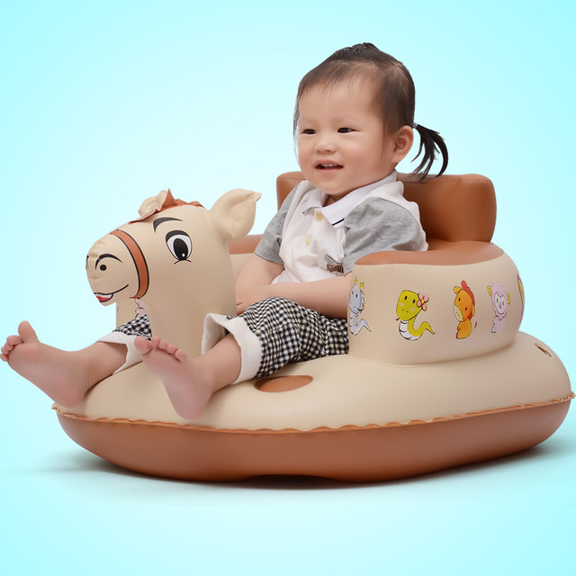 Online Shop Bath seat Dining Chair Baby Inflatable Sofa pushchair ...